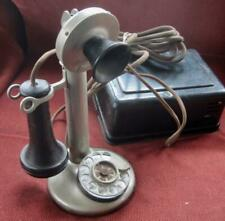 1912-1921 American Bell Telephone Co. Rotary Dial Candlestick Telephone