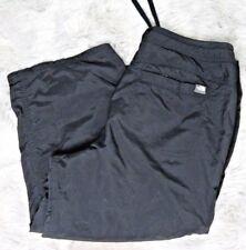 The North Face Womens Pants Capri Cropped Utility Black Nylon Hiking Size 10 A4