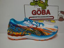 ASICS GEL NIMBUS 23 MEN'S DIGITAL AQUA/MARIGOLD ORANGE - 1011B153-400
