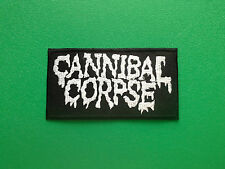 HEAVY METAL PUNK ROCK MUSIC SEW ON / IRON ON PATCH:- CANNIBAL CORPSE DEATH METAL