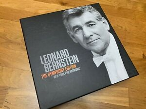 LEONARD BERNSTEIN The Symphony Edition CD BOX collection 60 CD edition