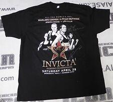 Marloes Coenen & Jessica Penne Signed Invicta FC 1 Event Shirt PSA/DNA COA UFC
