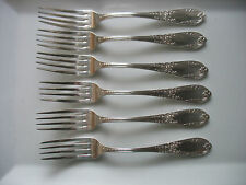 """VTG SFAM MUSICAL TROPHY  France 7 1/2""""  Forks NEO CLASSICAL silverplate"""