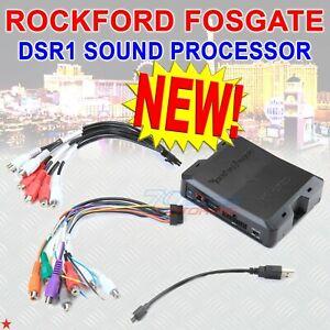 ROCKFORD FOSGATE DSR1 DIGITAL SIGNAL PROCESSOR W/ MAESTRO AR REPLACEMENT MODULE
