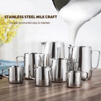 Stainless Steel Milk Kitchen Craft Coffee Latte Frothing Art Jug Pitcher Mug Cup