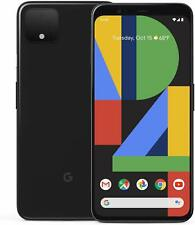 """NEW FACTORY UNLOCKED Pixel 4 128GB Smartphone 5.7"""" Just Black from GOOGLE STORE"""