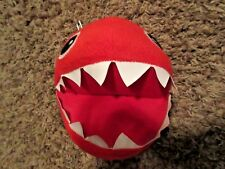 Super Mario Bros. Red Chain Chomp 8-Inch Plush Excellent Condition