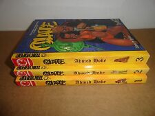 @Large vol. 1-3 by Ahmed Hoke Manga Graphic Novel Complete Lot in English