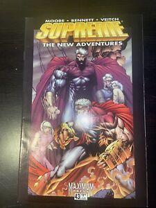 Supreme 43 RARE Alan Moore Rick Veitch Image Comics (1996) Superman VF 8.0