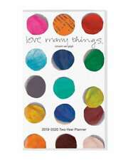 2019-2020 Love Many Things 2 Year Pocket Planner In Plastic Cover By Graphique