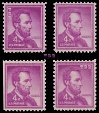 1036 1036a 1036b 1036e Lincoln 4c Liberty Issue Variety Set of 4 MNH - Buy Now