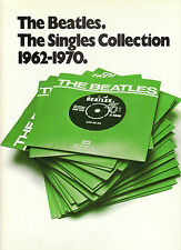 BEATLES SINGLES COLLECTION 1962-70 Songbook PIANO GUITAR VOCAL Sheet Music @EXCL