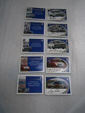 HOLDEN TRADING CARDS  SIGNATURE CARDS SET OF 5 CARDS