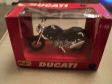 Boxed Maisto 1:18 Scale Ducati Bike