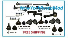 "68-70 GM ""A"" Deluxe Front Suspension Rebuild Kit Idler Arm Ball Joints Tie Rod"
