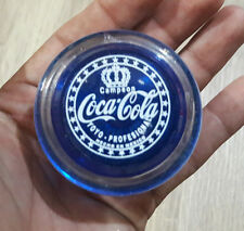 VINTAGE TOY MEXICAN YO-YO GENUINE CAMPEON COCA COLA BLUE