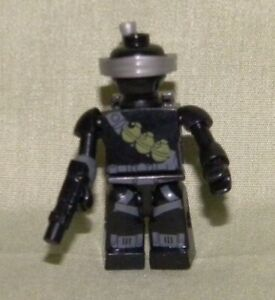SNAKE EYES Kreon Mini-Figure Loose from Kre-O GI Joe Ninja Temple Battle Set