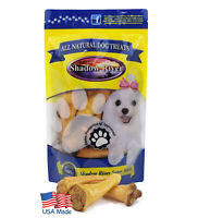 Shadow River USA Premium Smoked Lamb Ear Treats for Small Dogs - 10 Pack Petite
