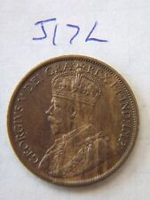 1912  Canada, Canadian Large Cent Coin , Canadian One Cent
