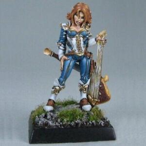 Reaper Dark Heaven Legends 03098 Astrid Female Chronicler Bard Minstrel Musician