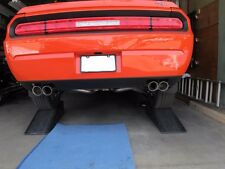 Solo Performance Cat Back V6 Challenger Performance Exhaust Quad Round Tips