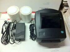 Black Custom Zebra LP2844 Thermal Label Barcode Printer 500 Thermal Labels