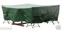Premium Patio Table and Seat Cover 200x160x70 cm Rectangular Furniture Cover