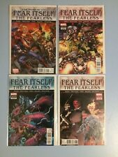 Fear Itself The Fearless # 1, 3, 4 and 8 Marvel Comics VF/NM 2011