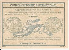 International Reply Coupon Germany  type Rome unused