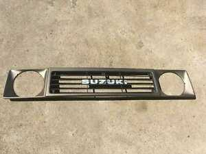 Suzuki Sj 413 Front End Mask Front Radiator Grille Gold Used
