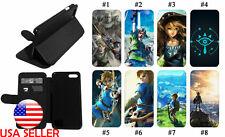 Zelda Breath Wild Wallet Leather Flip Stand Phone case for iPhone Apple 11 XR 8