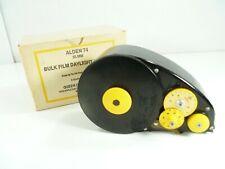 Vintage Alden 74 Bulk Film Daylight Loader 35mm 100 ft Rolls