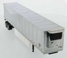 1:50 scale 53' Refrigerated van  - Chrome Plated - Diecast Masters 91022