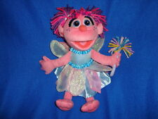 "Gund 2010 Sesame Street Fairy Abby Cadabby Plush 12"""