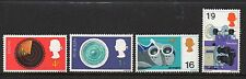 GB 1967 Discovery & Invention MNH mint set stamps