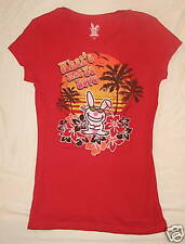 HAPPY BUNNY JUNIORS T-SHIRT WHATS NOT TO LOVE L 11/13!!