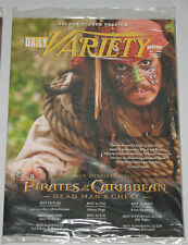 Daily Variety Gotham Dec.1,2006 Pirates of the Caribbean Dead Man's Chest, Babel