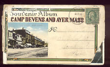 1921 Souvenir Postcard Album Camp Devens and Ayer MA Nice Vintage Cards A7272