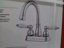 Price Pfister Henlow Polished Chrome 2 Handle Bathroom Faucet #LF-048-HECC