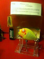 HEDDON 9630 XRY Punkinseed spook box VINTAGE FISHING LURE dowagiac NIB Bell Hrdw