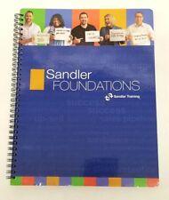 Sandler System Foundation Training Work Book Paperback 2006-2016