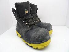 DUNLOP Men's 6'' Composite Toe Composite Plate DLNB16103 Work Boot Black 12M