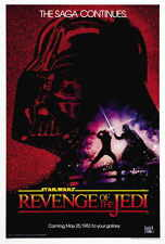 "REVENGE OF THE JEDI Movie Poster [Licensed-NEW-USA] 27x40"" Theater Size (Lucas)"