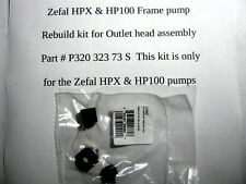 Zefal HPX and HP100 Pressure head rebuild kit Fresh from France !