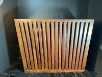 Mid-Century Modern Solid Wood Rosewood Magazine Holder
