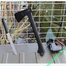 """Hacha """"Outdoor"""" con pedernal y sierra 32038 Mango: ABS"""