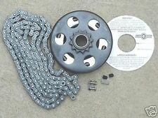 "Go Kart Go Cart Parts  3/4"" Bore Clutch & 3ft. Chain #35"
