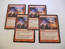 4x MTG Colpo di Fulmine-Lightning Strike Magic EDH THS Theros ITA-ING Modern x4