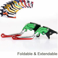 Folding Extend Brake Clutch Levers For aprilia TUONO 1000-R /RSV mille R /SL1000