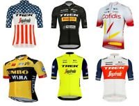 Cycling Pro Team Jersey, Bike Short Sleeve Shirts- Trek, Cofidis, Jumbo Visma